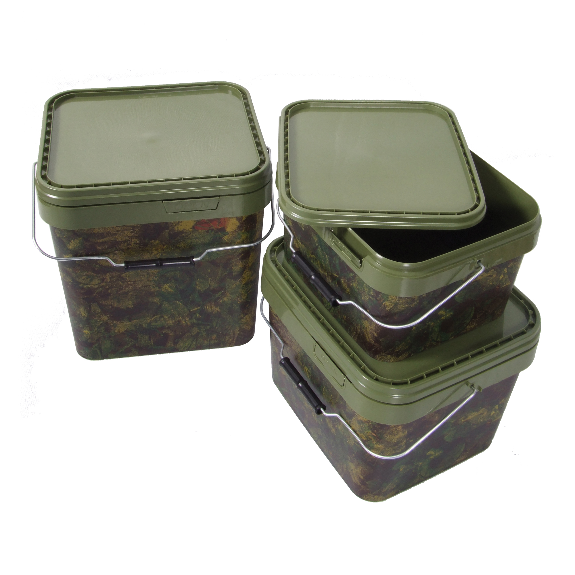 Vedro Camo Square Bucket