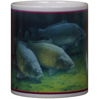 Hrnček Three Cautious Carp Mug